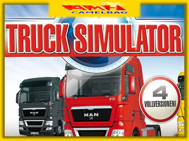 truck lkw simulator complete edition 4 spiele f r pc neu. Black Bedroom Furniture Sets. Home Design Ideas