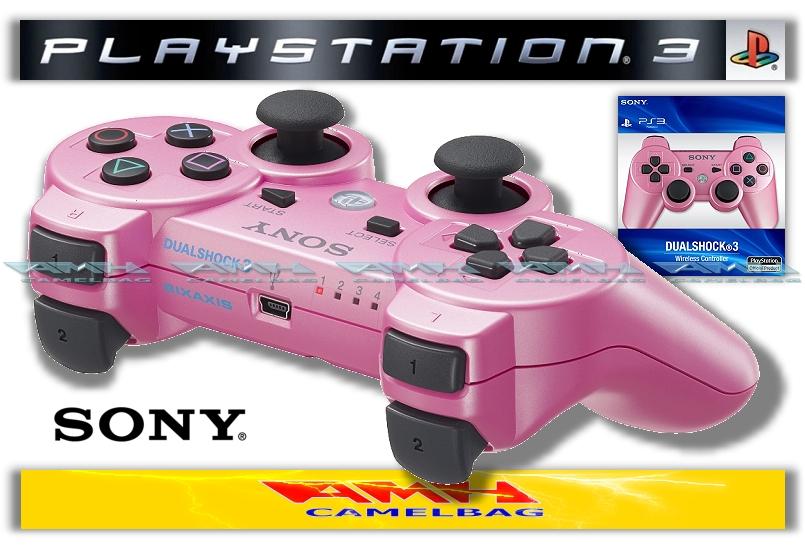 original sony dualshock 3 controller pink ps3 neu ovp. Black Bedroom Furniture Sets. Home Design Ideas