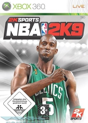 NBA 2K9 BASKETBALL XBOX 360 NEU/OVP/DEUTSCHE VERSION