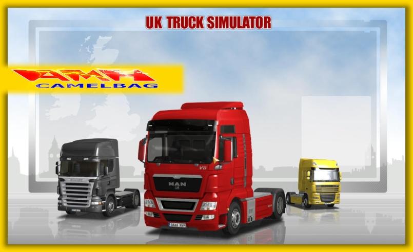 uk truck simulator lkw lastwagen simulator f r pc neu ovp. Black Bedroom Furniture Sets. Home Design Ideas